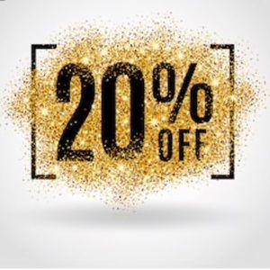 ALL ITEMS-BUNDLE 2 or more items, and get 20% off!